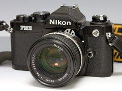 Nikon FM2 フィルムカメラ/Nikkor Ai-S 50mm 1.4 レンズ付