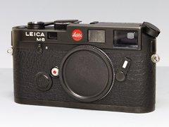 Leica M6 ブラック/レンジファインダーカメラ