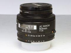 Nikon AF Nikkor 50mm f1.4 単焦点レンズ
