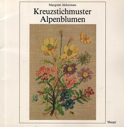 クロスステッチで描くアルプスの花々 K...
