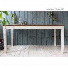 アンティーク風 無垢材のフレンチテーブル   DT-015