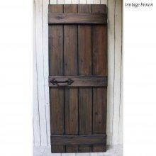 アンティーク風ドア 木製ドア  無垢材扉 GINO SD-071