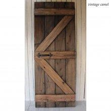 アンティーク風ドア 無垢材ドア 木製扉 SILVIO SD-072