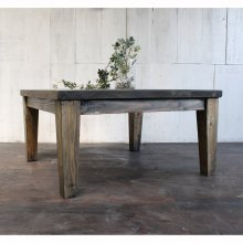 特価SALE アンティーク風 無垢材ローテーブル LT-927