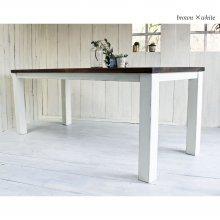 アンティーク風無垢材ダイニングテーブル 6〜8人用大テーブル DT-025