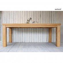 天然木 ひのき無垢材 ダイニングテーブル 6〜8人用 送料無料 DT-036