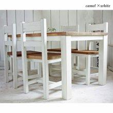 ダイニングテーブルセット 無垢材 カフェ什器 DS-025