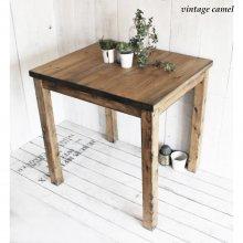 ダイニングテーブル 無垢材 2人用 カフェスタイル ミニテーブル FORTUNA MT-014