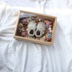 baby shoes box