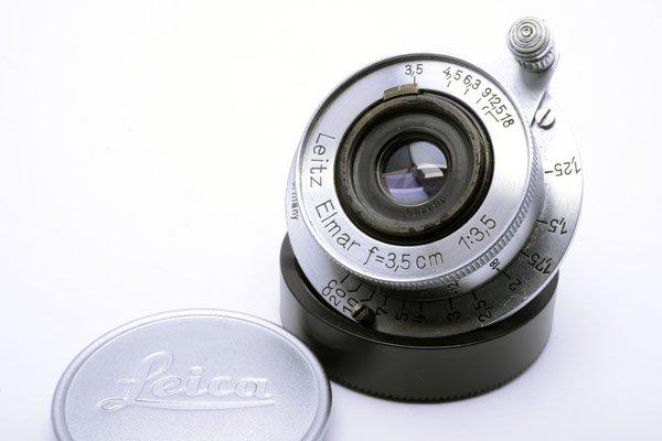 LEICA ライカ Elmar ブルーコーテッドエルマー 35mmF3.5 L
