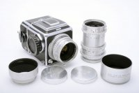 <img class='new_mark_img1' src='https://img.shop-pro.jp/img/new/icons15.gif' style='border:none;display:inline;margin:0px;padding:0px;width:auto;' />Hasselblad ハッセルブラッド 1000F + Kodak EKTAR エクター 80mmF2.8 + 135mmF3.5