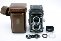 <img class='new_mark_img1' src='https://img.shop-pro.jp/img/new/icons15.gif' style='border:none;display:inline;margin:0px;padding:0px;width:auto;' />ROLLEIFLEX ローライフレックス 3.5a オートマットMX(V型) Tessar テッサー 75mmF3.5 T(中村光学OH済)