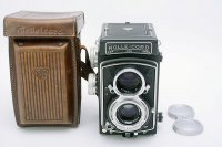 <img class='new_mark_img1' src='https://img.shop-pro.jp/img/new/icons15.gif' style='border:none;display:inline;margin:0px;padding:0px;width:auto;' />ROLLEICORD � ローライコード Xenar クセナー75mm F3.5 + 純正革ケース