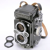 <img class='new_mark_img1' src='https://img.shop-pro.jp/img/new/icons15.gif' style='border:none;display:inline;margin:0px;padding:0px;width:auto;' />ROLLEIFLEX ローライフレックス 3.5B オートマット(MX-EVS K4B Type2) Tessar テッサー 75mmF3.5
