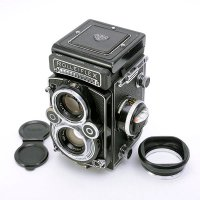 <img class='new_mark_img1' src='https://img.shop-pro.jp/img/new/icons15.gif' style='border:none;display:inline;margin:0px;padding:0px;width:auto;' />ROLLEIFLEX ローライフレックス 3.5F Planar プラナー 75mmF3.5 + 純正フード