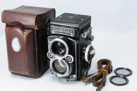 <img class='new_mark_img1' src='https://img.shop-pro.jp/img/new/icons15.gif' style='border:none;display:inline;margin:0px;padding:0px;width:auto;' />ROLLEIFLEX ローライフレックス 2.8F Planar プラナー 80mmF2.8