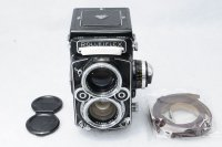 <img class='new_mark_img1' src='https://img.shop-pro.jp/img/new/icons15.gif' style='border:none;display:inline;margin:0px;padding:0px;width:auto;' />ROLLEIFLEX ローライフレックス 2.8F Planar プラナー 80mmF2.8+革ストラップ