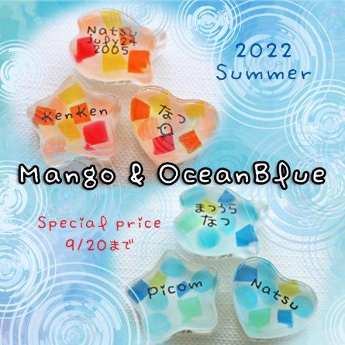 【9/20まで】マンゴー&オーシャンブルーのチャーム