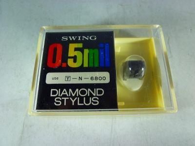 SWING DIAMOND STYLUS Y-N-6800 0.5MIL YAMAHA/NIPPONGAKKI N-6800
