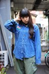 <img class='new_mark_img1' src='//img.shop-pro.jp/img/new/icons50.gif' style='border:none;display:inline;margin:0px;padding:0px;width:auto;' />【Used】Wrangler vintage denim shirt