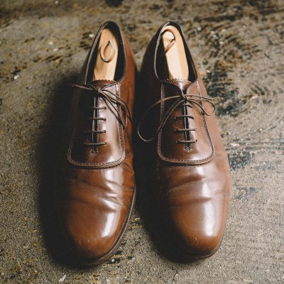 80's FLORSHEIM IMPERIAL LEATHER SHOES / 送料無料
