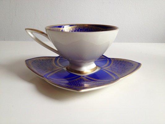【送料無料】1950年代/ドイツ陶磁器メーカー/カップ&ソーサ/<初売り特別価格>