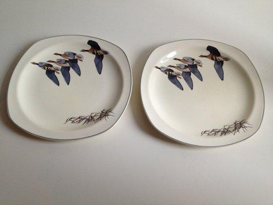 【送料無料】Midwinter/ミッドウィンター/Wild Geese/ワイルドギース/皿 19.5cm/1950年代