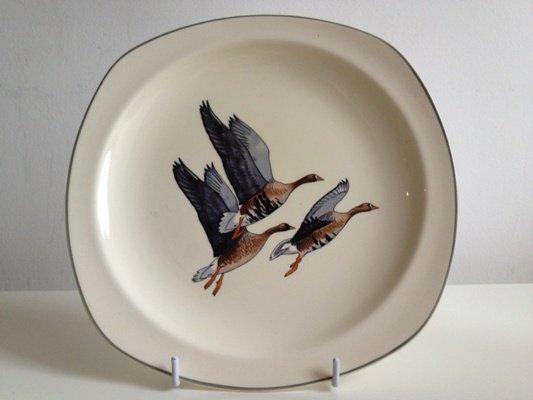 【送料無料】Midwinter/ミッドウィンター/Wild Geese/ワイルドギース/皿 22cm/1950年代
