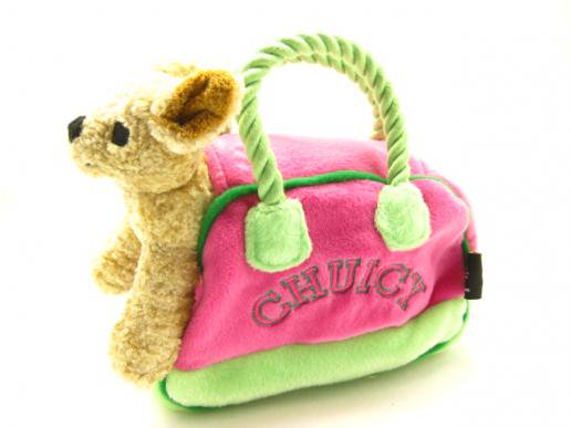 USA★ファブドッグ Chuicy Pet Carrier Plush Toy