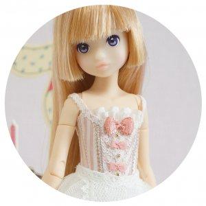 rurukoサイズコルセットドレス ・Confetti