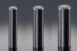 チタン印鑑 ブラストブラック 印鑑セット 18mm 15mm 13.5mm