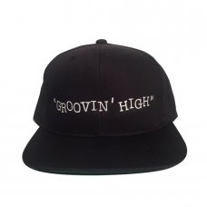 GROOVIN' HIGH SNAPBACK-BLACK