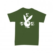 <img class='new_mark_img1' src='//img.shop-pro.jp/img/new/icons5.gif' style='border:none;display:inline;margin:0px;padding:0px;width:auto;' />8BALL BUNNY TEE-OLIVE