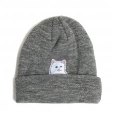 <img class='new_mark_img1' src='//img.shop-pro.jp/img/new/icons5.gif' style='border:none;display:inline;margin:0px;padding:0px;width:auto;' />LORD NERMAL BEANIE (GREY)