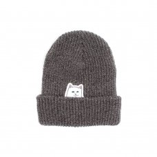 LORD NERMAL (SLATE GRAY) RIBBED BEANIE