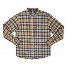 <img class='new_mark_img1' src='//img.shop-pro.jp/img/new/icons5.gif' style='border:none;display:inline;margin:0px;padding:0px;width:auto;' />Range Flannel Shirt - Old Gold