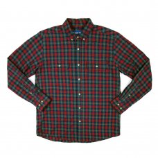 <img class='new_mark_img1' src='//img.shop-pro.jp/img/new/icons5.gif' style='border:none;display:inline;margin:0px;padding:0px;width:auto;' />Range Flannel Shirt - Pine