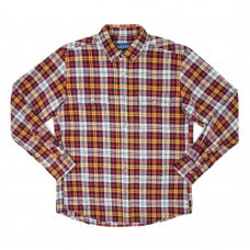 RANGE FLANNEL SHIRT (COTTAGE RED)