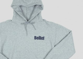 WORLD TRADE CHAMPION HOODY - STEEL GREY