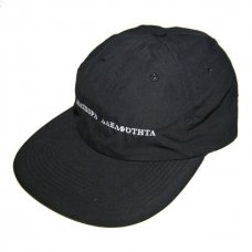 <img class='new_mark_img1' src='//img.shop-pro.jp/img/new/icons47.gif' style='border:none;display:inline;margin:0px;padding:0px;width:auto;' />Long Letter Baseball Cap (Black)