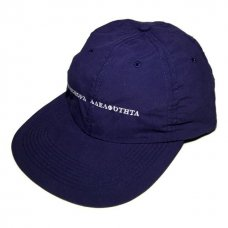 <img class='new_mark_img1' src='//img.shop-pro.jp/img/new/icons5.gif' style='border:none;display:inline;margin:0px;padding:0px;width:auto;' />Long Letter Baseball Cap (Navy)