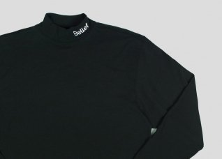 CONNECT MOCK NECK - BLACK