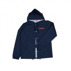 <img class='new_mark_img1' src='//img.shop-pro.jp/img/new/icons5.gif' style='border:none;display:inline;margin:0px;padding:0px;width:auto;' />Hooded Coaches Jacket - Navy