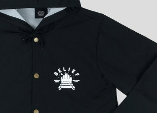 <img class='new_mark_img1' src='//img.shop-pro.jp/img/new/icons5.gif' style='border:none;display:inline;margin:0px;padding:0px;width:auto;' />QUEENSBORO JACKET - BLACK