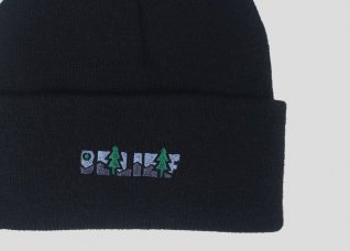 GREAT ESCAPE BEANIE - BLACK