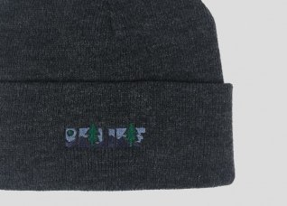 GREAT ESCAPE BEANIE - CHARCOAL HEATHER