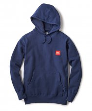 <img class='new_mark_img1' src='//img.shop-pro.jp/img/new/icons5.gif' style='border:none;display:inline;margin:0px;padding:0px;width:auto;' />BOX LOGO PULLOVER HOODY - NAVY