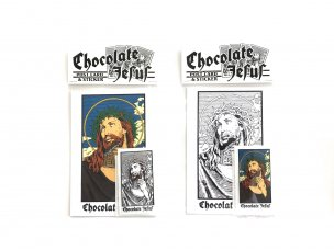 <img class='new_mark_img1' src='//img.shop-pro.jp/img/new/icons47.gif' style='border:none;display:inline;margin:0px;padding:0px;width:auto;' />CHOCOLATE JESUS STICKER PACK