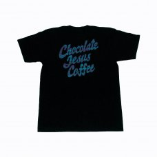 <img class='new_mark_img1' src='//img.shop-pro.jp/img/new/icons5.gif' style='border:none;display:inline;margin:0px;padding:0px;width:auto;' />CHOCOLATE JESUS COFFEE TEE - BLACK/BLUE