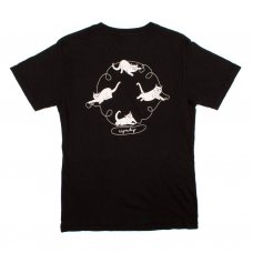 NERMAL STRINGS TEE (VINTAGE BLACK)